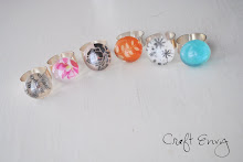 Accent Gem Rings