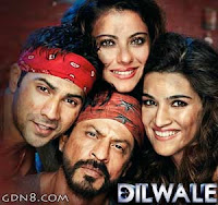 Dilwale Srk 2015 HIndi Movie First Look Information & Trailer