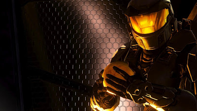 Golden Master Chief Wallpaper