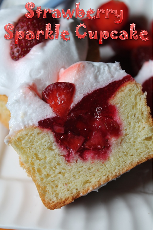 YUMMY TUMMY: Strawberry Sparkle Cake Recipe