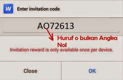 kode invite whaff