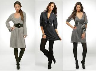 imagens de modelos de Vestido com Meia-calça