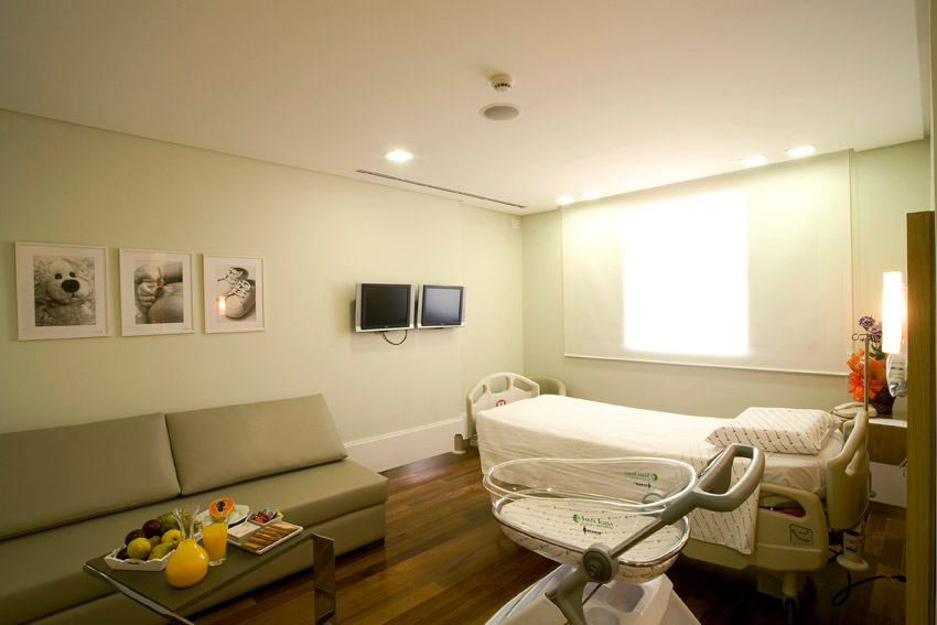 Suite do Hospital e Maternidade Santa Joana