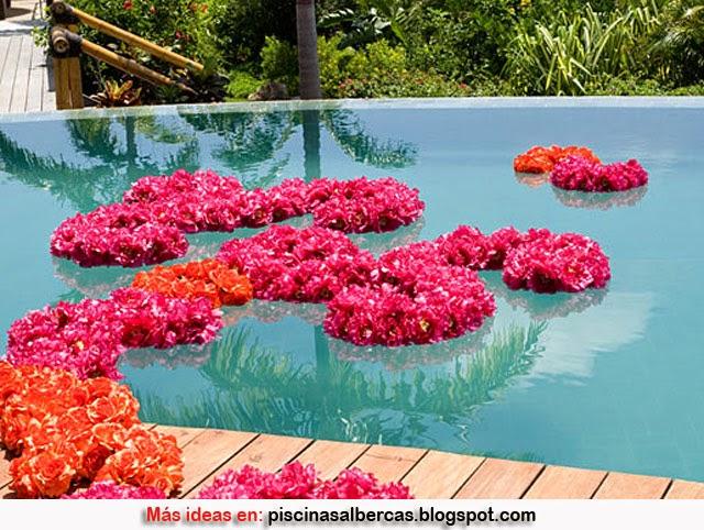 Decoraci n de piscinas para bodas piscinas y albercas for Decoracion para piscinas
