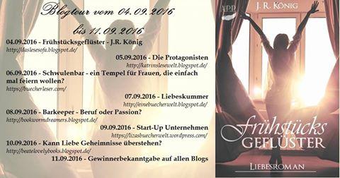 """Blogtour """"Frühstücksgeflüster"""" von J. R. König"""