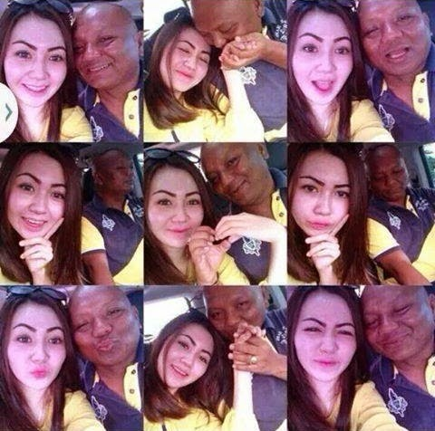 Cinta tak mengenal rupa apabila pasangan terlebih elok rupa