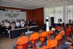 Imparten cursos de capacitación  laboral en penales de la entidad