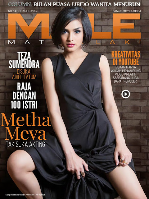 Singer @ Metha Meva - Male Indonesia,  July 2015