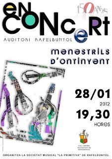 Concert del grup Menestrils