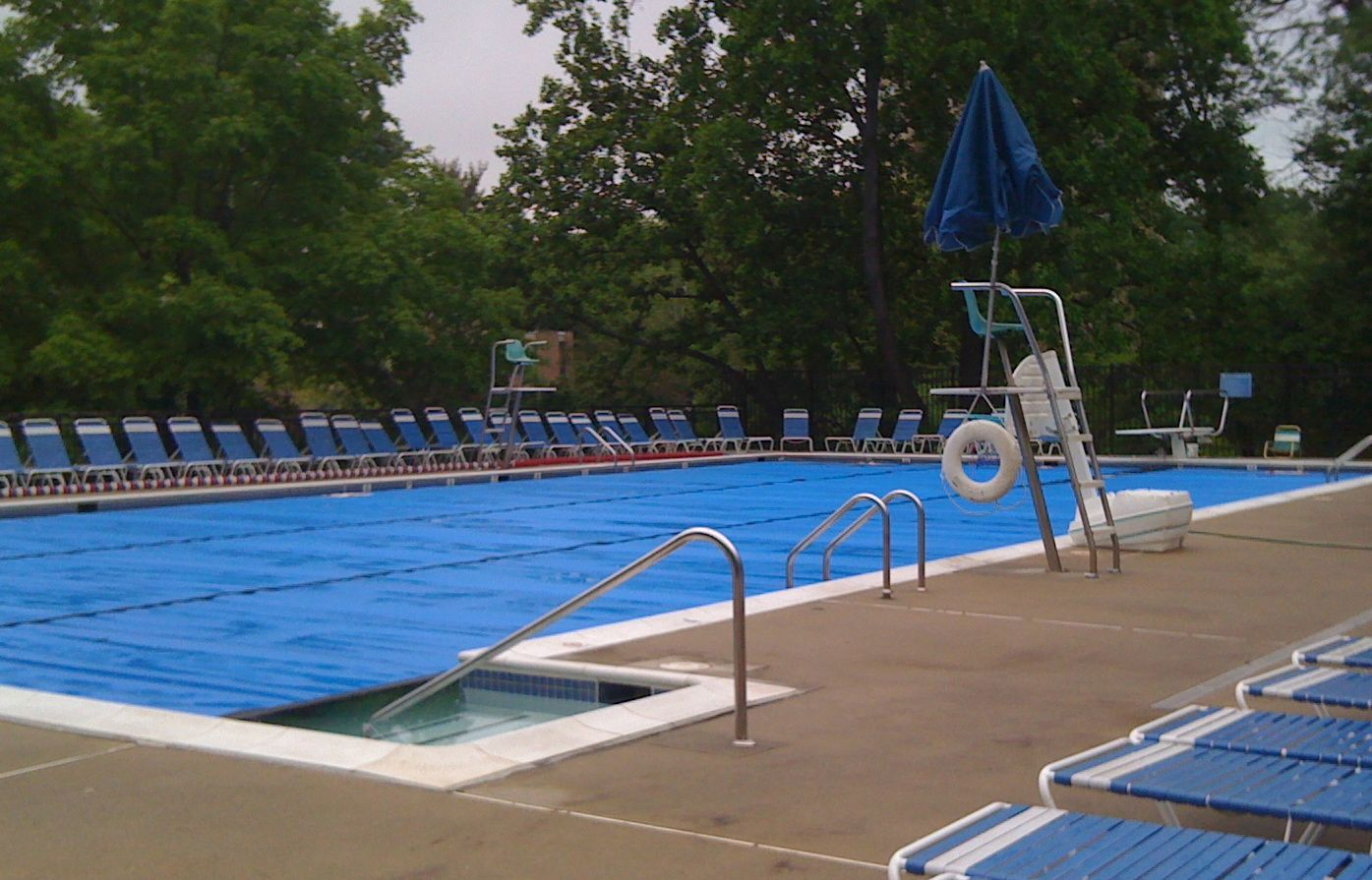hickory cluster north shore heated pool opens