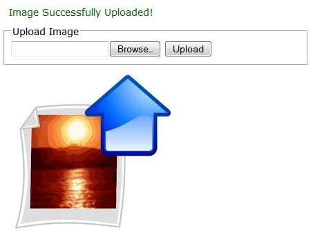 Upload Rezied Image on Server