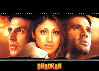Poster Of Bollywood Movie Dhadkan (2000) 300MB Compressed Small Size Pc Movie Free Download exp3rto.com