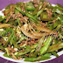 Stir Fried Green Beans and Ground Beef