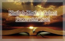 Materi Khotbah Rohani