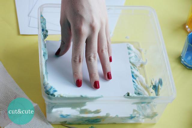 Poradnik DIY barwienie papieru