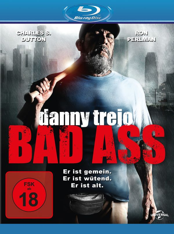 Bad Ass Blu-ray Cover