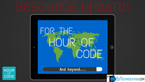 #HourofCode Resource Update! | by @EdTechnocation
