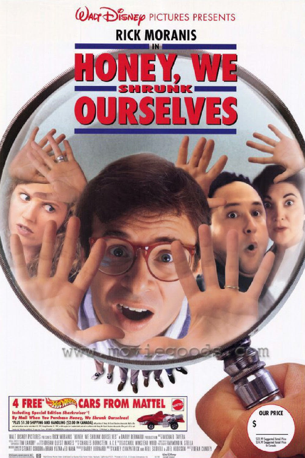 Honey we shrunk ourselves (1997) tainies online oipeirates