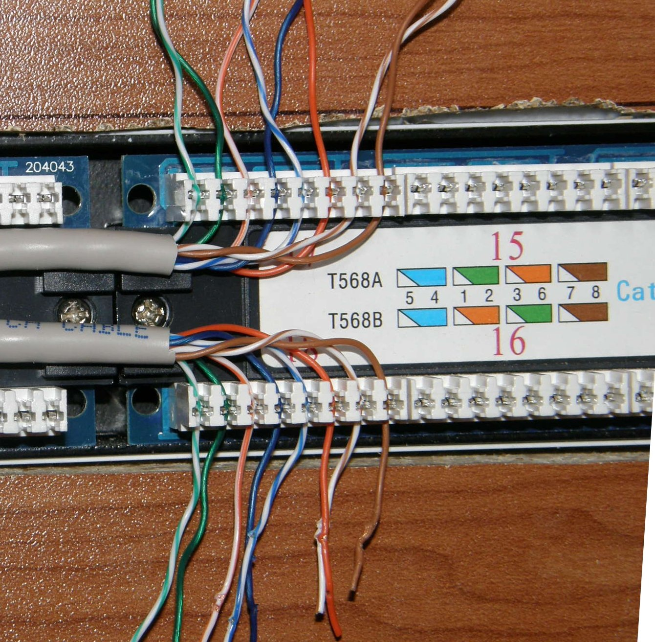 In Case You Need To Know      Wiring Up A Home Network Patch Panel