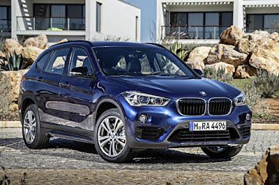 BMW X1 xDrive25i Sport Line (2016) Front Side