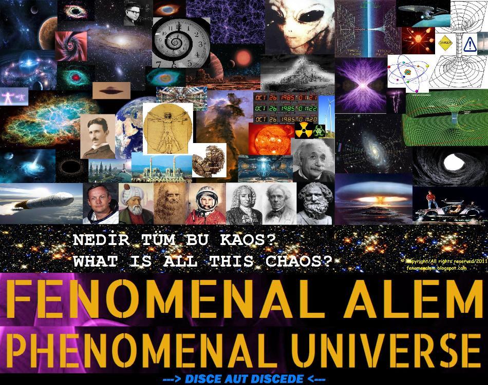 FENOMENAL ALEM - PHENOMENAL UNIVERSE