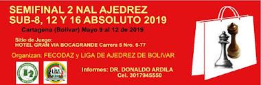 Semifinal-2 Sub-8, 12 y 16 Absoluto 2019 (Dar clic a la imagen)
