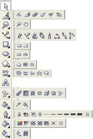 name tool coreldraw name and function toolbox coreldraw