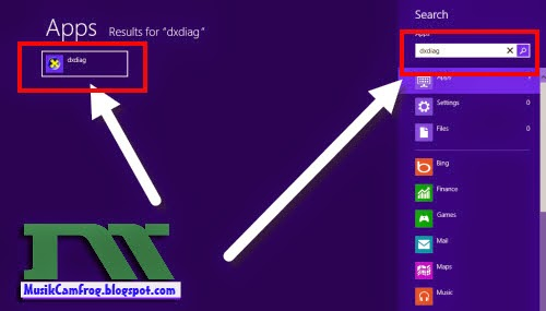 cara  mengetahui spesifikasi laptop windows 8