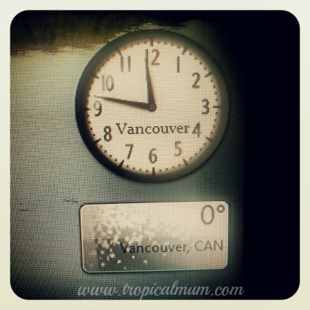 Vancouver time and weather