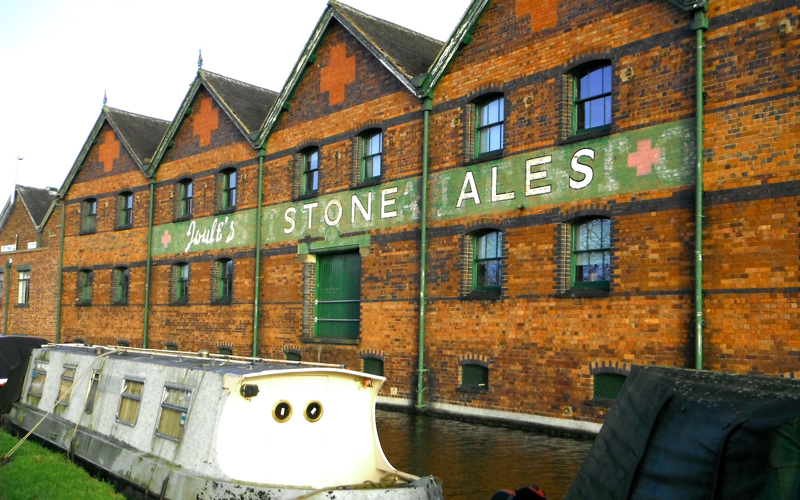 The old Joules Brewery Warehouse