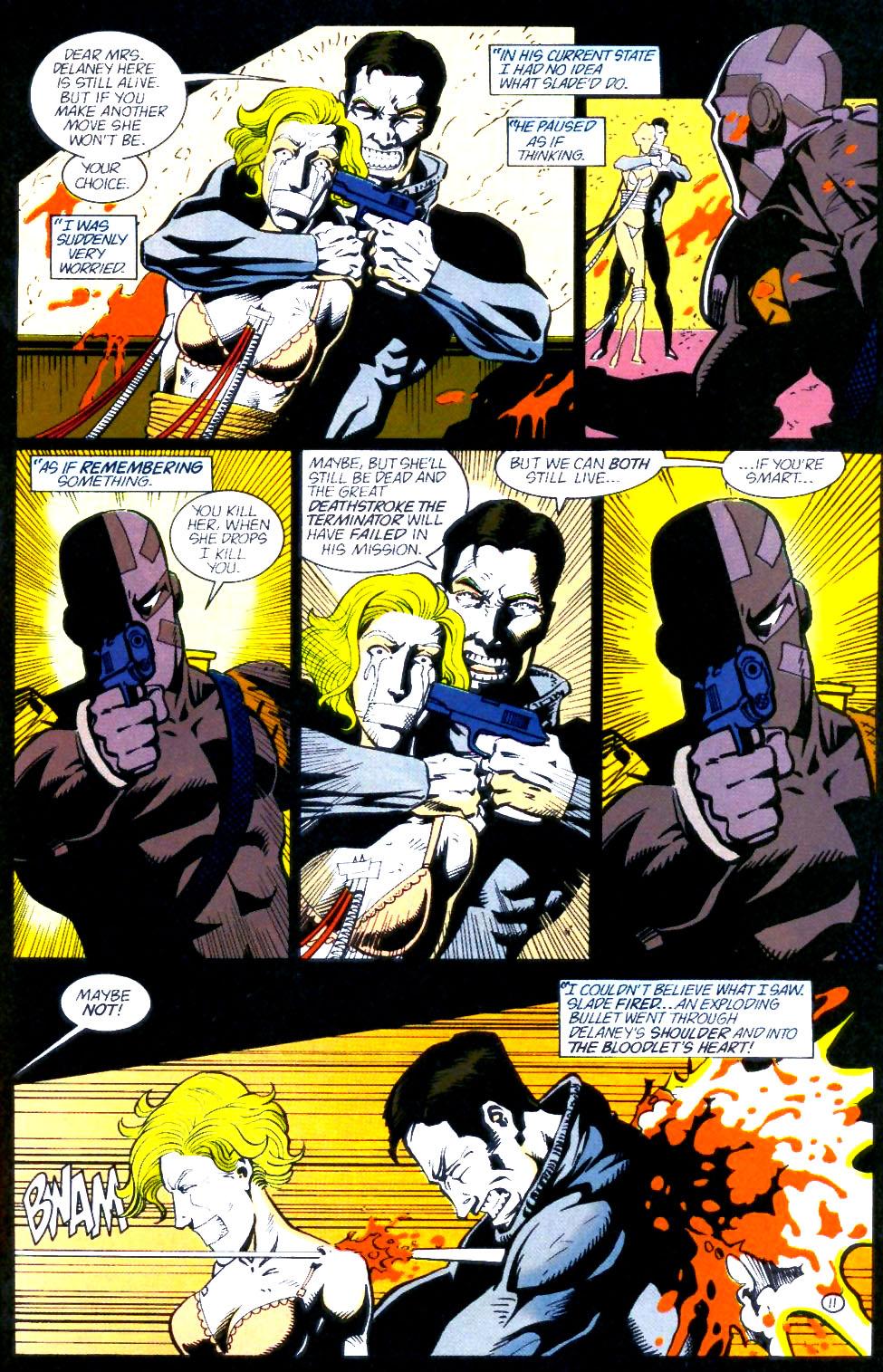 Deathstroke (1991) Issue #60 #65 - English 12