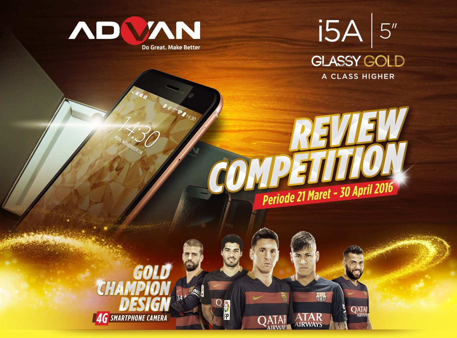 Review Competition ADVAN i5A