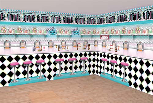 Fabulous fifties party guide everyday parties for 50 s decoration ideas