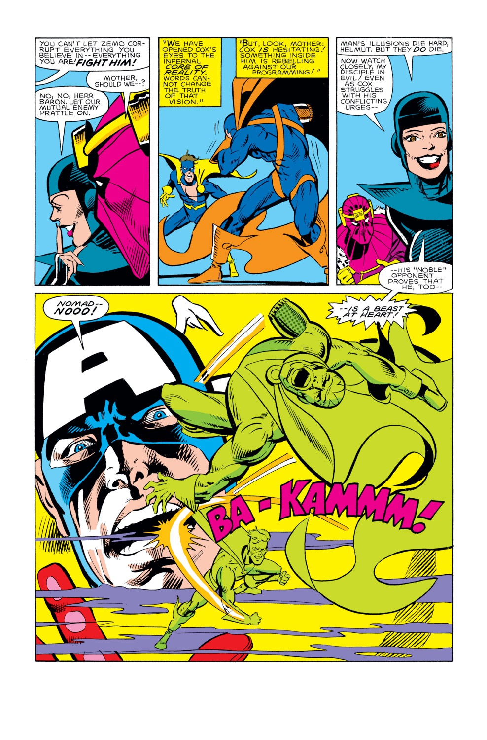 Captain America (1968) Issue #294 #222 - English 7
