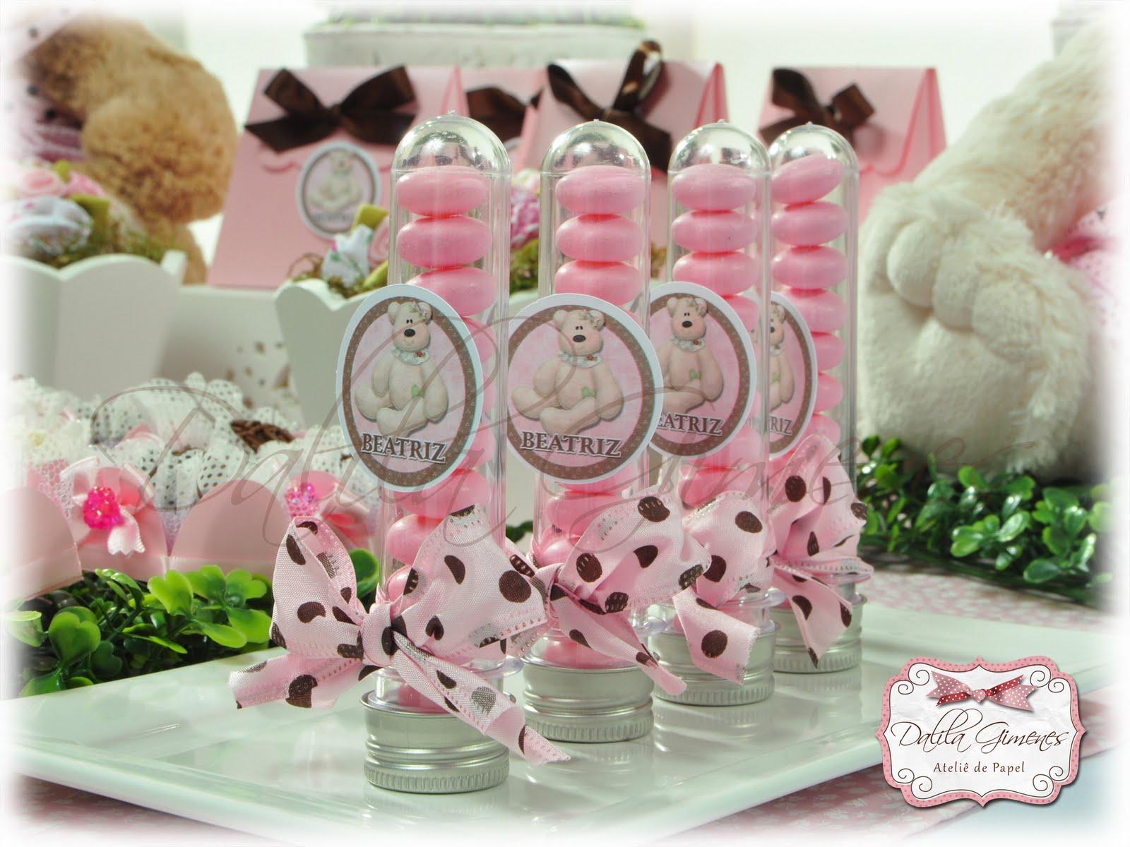 Pin 20 Convite Ursa Rosa E Marrom Floral R $ 7 46 Provencal on
