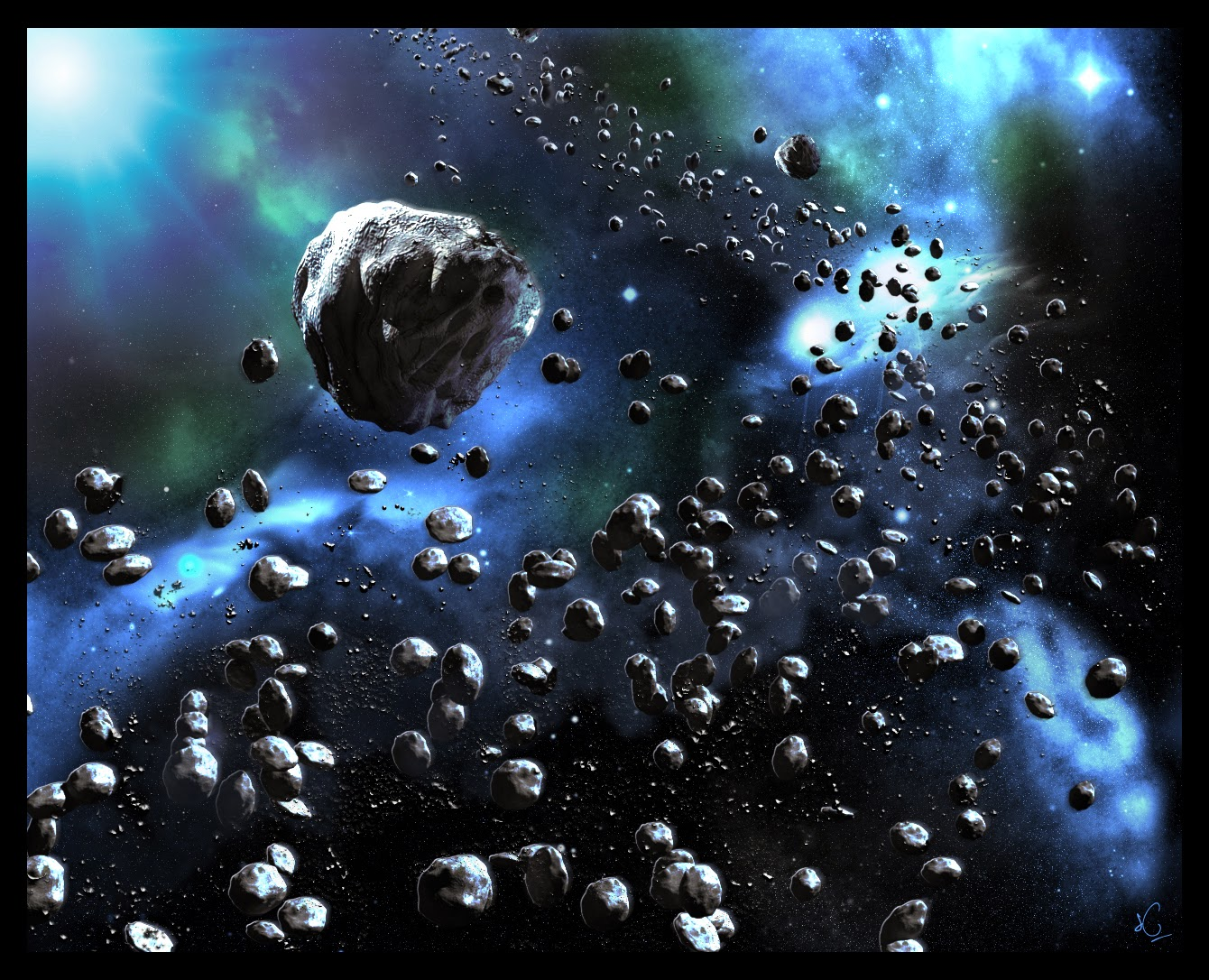 like how are planets asteroids - photo #10