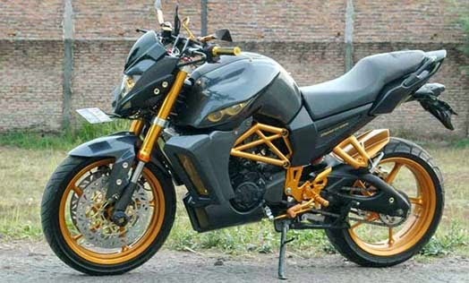 modifikasi yamaha byson street fighter terbaru