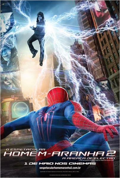 Filme O Espetacular Homem Aranha 2 A Ameaça de Electro Dublado AVI BDRip