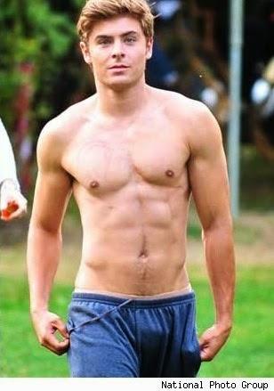 Zac Efron bulge