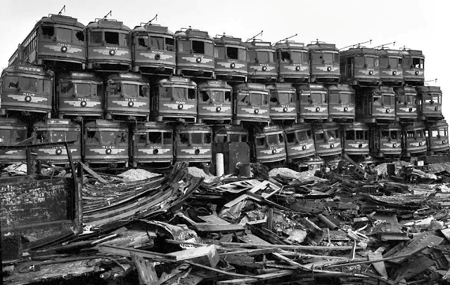 Used Tires Portland >> 50 Vintage Photos of Classic Car Salvage Yards and Wrecks ...