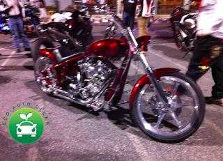 beautiful custom motorcycle at hooters bike night lawrenceville ga