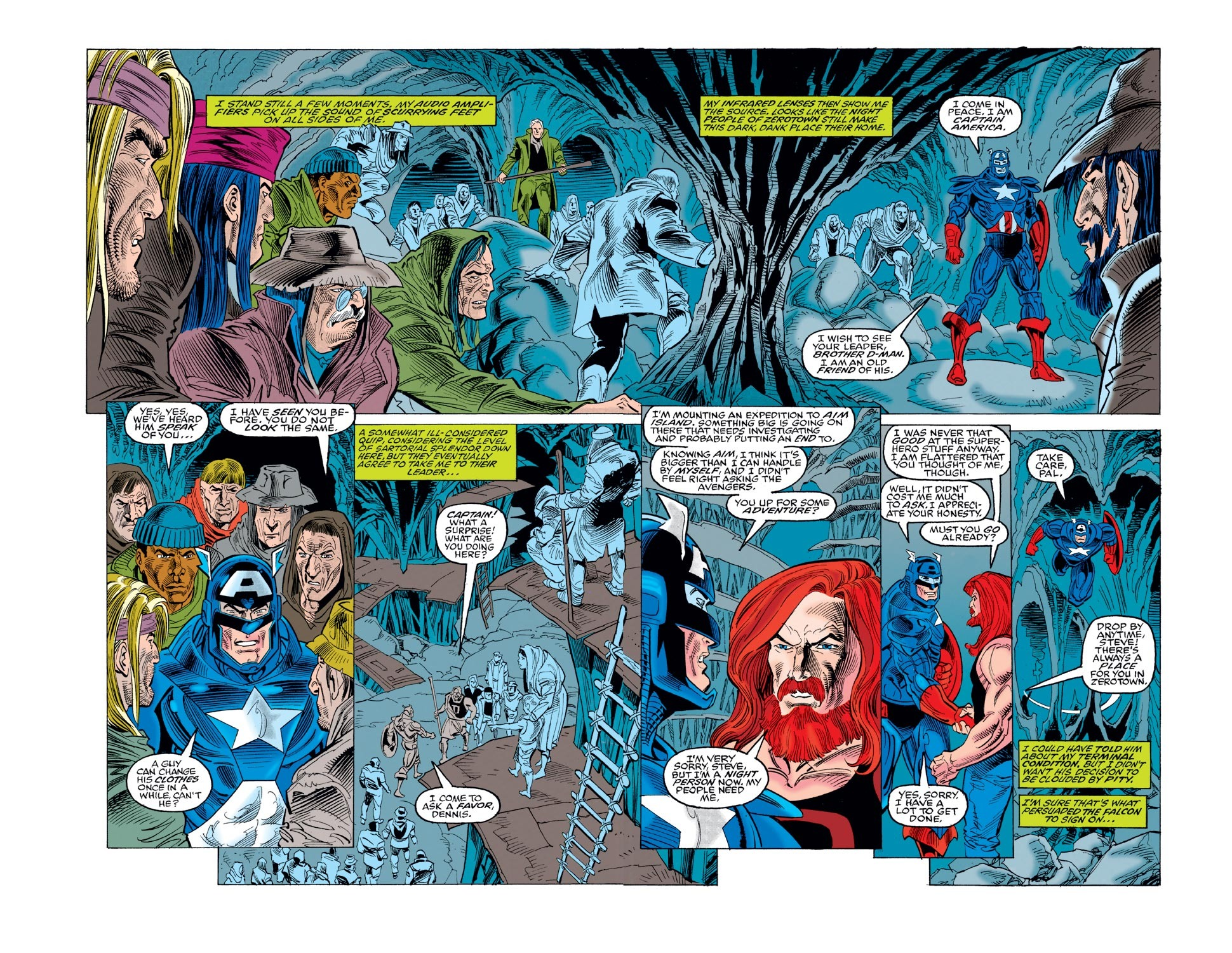 Captain America (1968) Issue #440 #392 - English 3