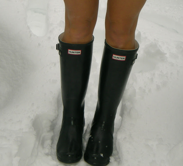Hunter Boots Black