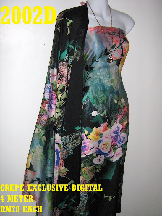 CP 2002D: CREPE EXCLUSIVE DIGITAL PRINTED, 4 METER