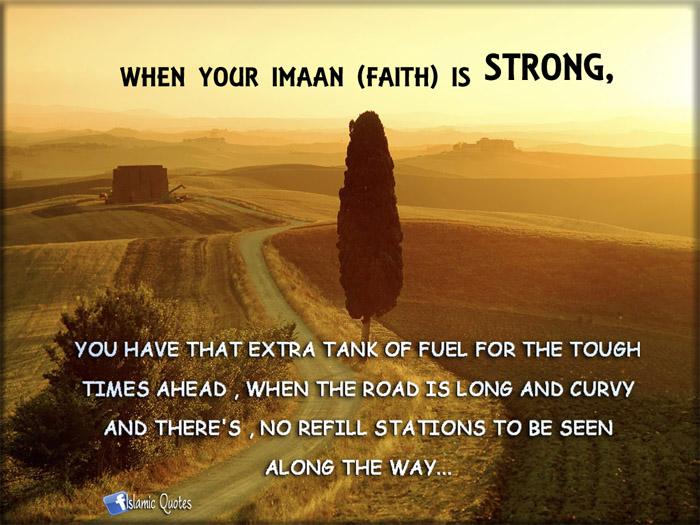 Islamic Quotes: faith