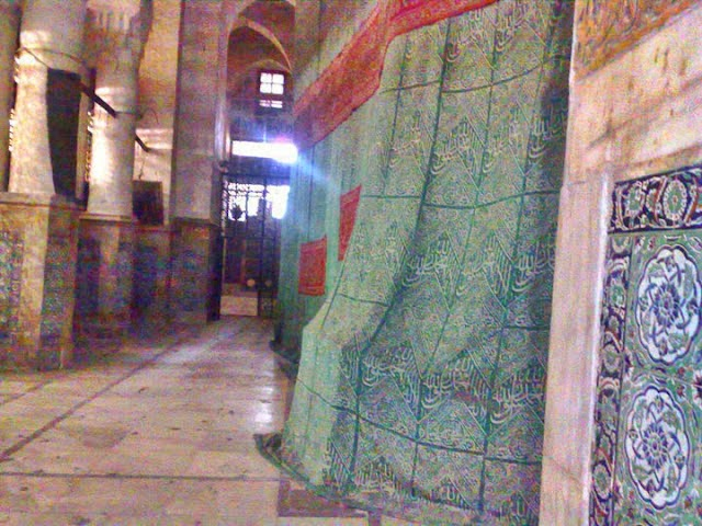 Khadim e Rasool of the sacred Rozah Mubaarak visit allama kaukab noorani okarvi