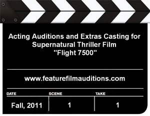 Flight 7500 Auditions Extras Casting