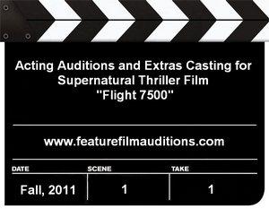 Flight 7500 Auditions Extras Casting