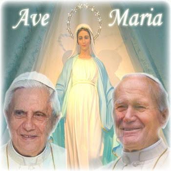CI PROTEGGONO SEMPRE * Il Beato Giovanni  Paolo II° e La  Madre di DIO *