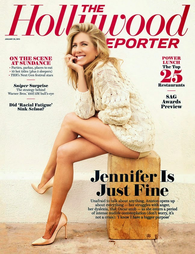 Actress, Director, Producer, Businesswoman: Jennifer Aniston - The Hollywood Reporter January 2015